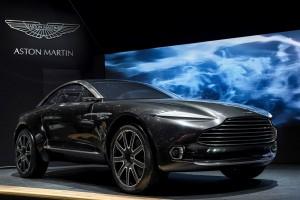 Aston Martin DBX  Un SUV électrique et son Kers