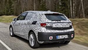 L'Opel Astra K débutera à Francfort