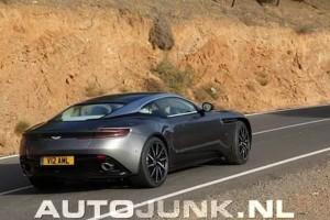 Aston Martin DB11 les premiers clichés alléchants