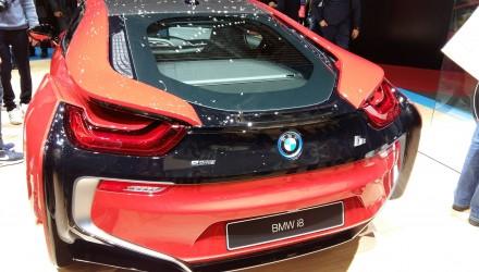 BMW i8 100% électrique