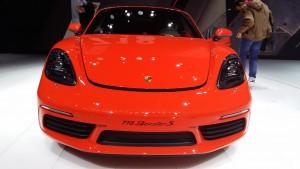 La nouvelle Porsche Boxster sur le salon de Genève