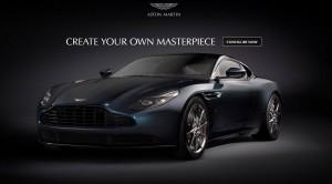 Aston Martin DB11, configurateur