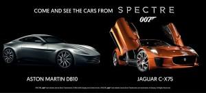 James Bond et la DBX au salon Top Marques