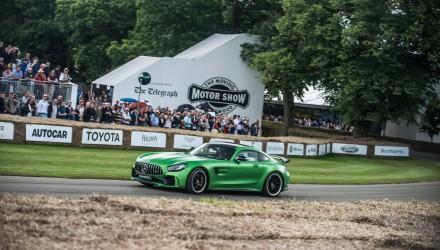 Mercedes AMG GT-R, Goodwood