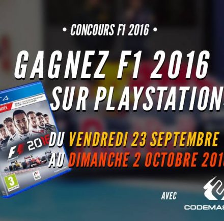 Concours F1 2016