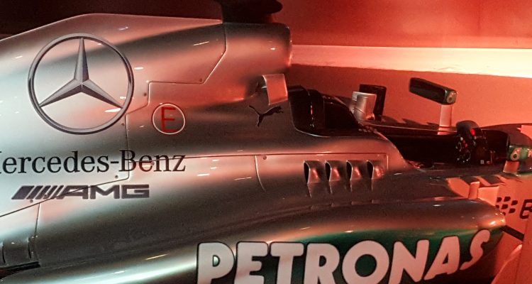 Mercedes AMG, une Formule 1 de route