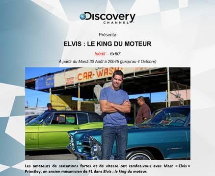 Elvis, le King du moteurvotre nouveau rendez-vous TV