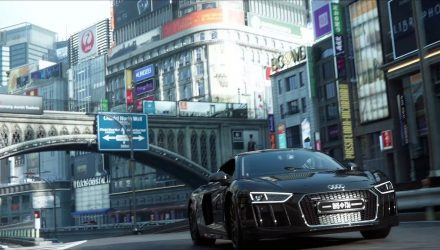 Audi R8 Final Fantasy film