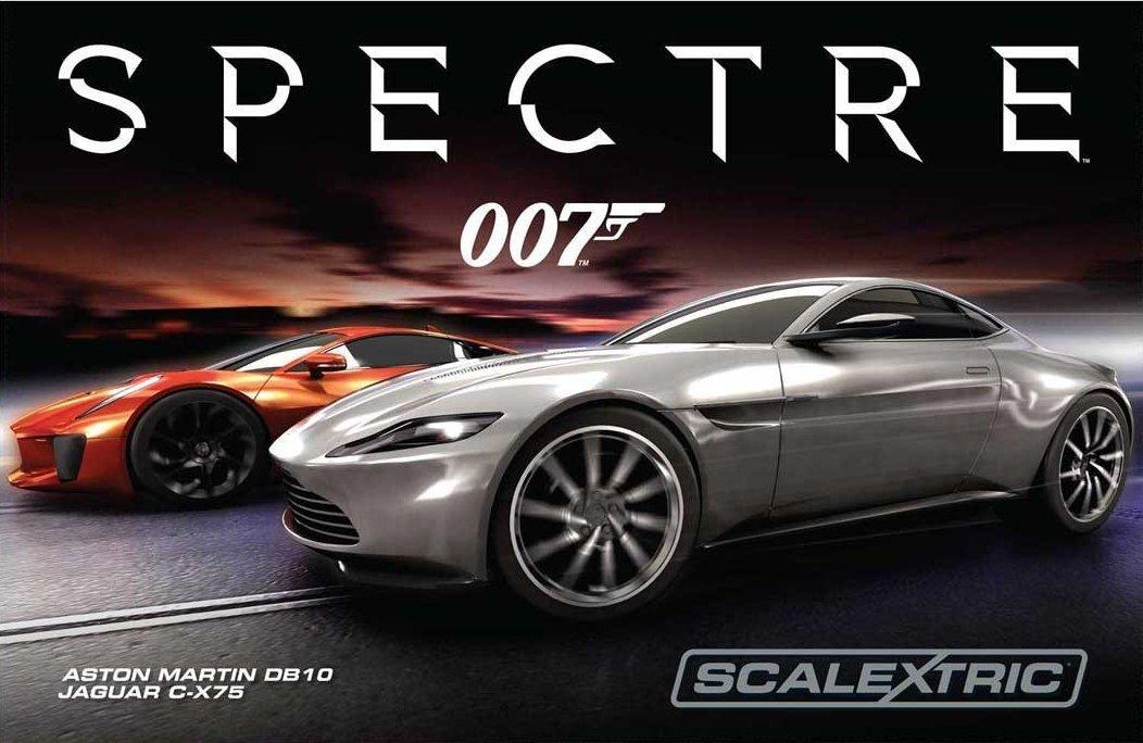 james bond 007 spectre le circuit lectrique par. Black Bedroom Furniture Sets. Home Design Ideas