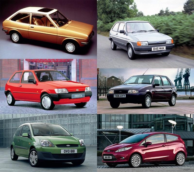 Ford Fiesta toutes générations