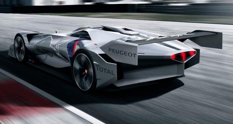 La Peugeot L750 R HYbrid Vision Gran Turismo dans GT Sport