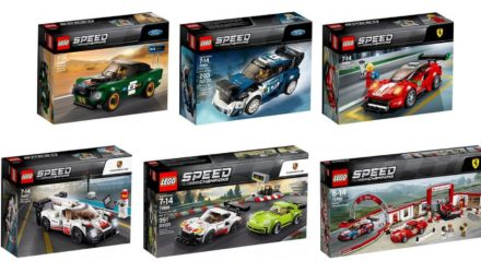LEGO Speed Champions, la collection va s'agrandir en mars !