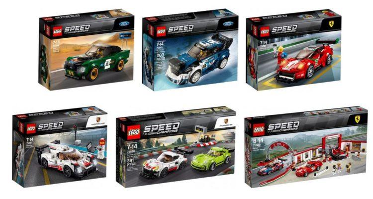 LEGO Speed Champions, la collection va s'agrandir en mars !