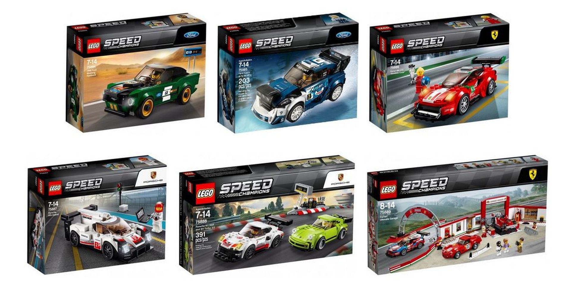 lego speed champions la collection va s 39 agrandir en mars le mag auto prestige. Black Bedroom Furniture Sets. Home Design Ideas