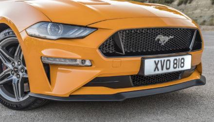 Nouvelle Ford Mustang focus avant son débarquement 2