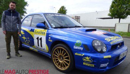 Rencontre avec Louis, propriétaire d'une Subaru Impreza aux couleurs de Petter Solberg !
