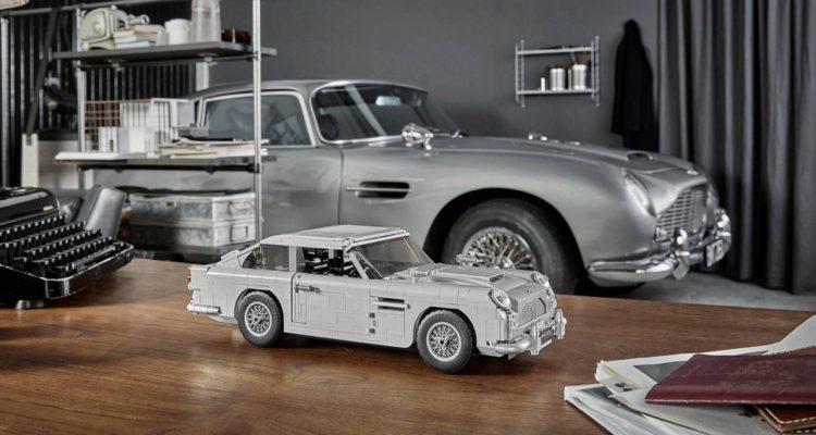 L'Aston Martin DB5 de James Bond en Lego !