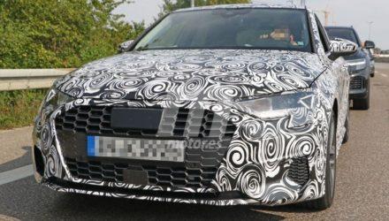 La nouvelle Audi A3 dévoile (un peu) des courbes...conservatrices