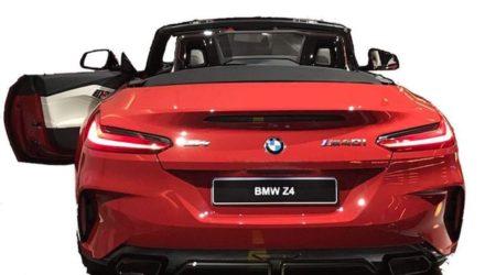 Voici le nouveau Roadster BMW Z4, en quelques clichés !