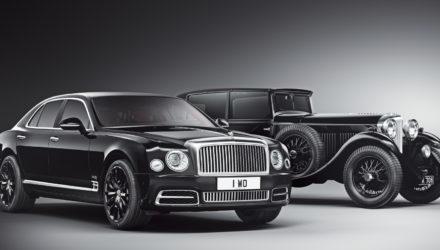 Bentley fête ses 100 ans avec une édition spéciale !
