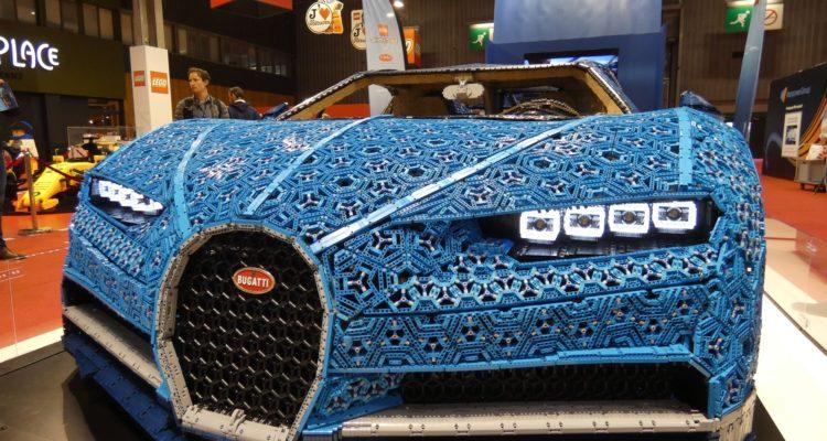 Mondial de l'Auto, Lego aime les voitures et la Bugatti Chiron !
