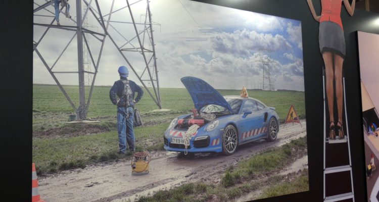 Mondial de l'Auto on est dingue de l'expo de Dingo par FirstStop !