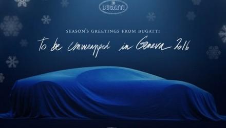 Bugatti Chiron, Genève 2016