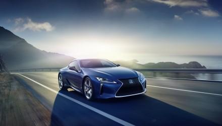 Lexus présentera son nouvel hybrid LC500h à Genève, cette année