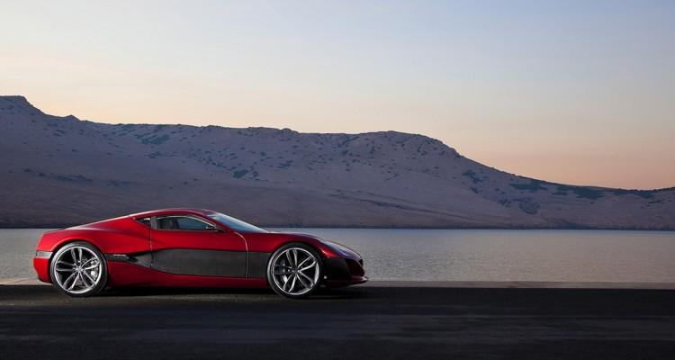 La Rimac Concept One, supercar électrique