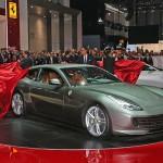 La nouvelle Ferrari Lusso à Genève