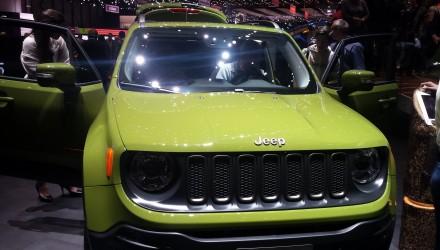 Stand Jeep, salon de Genève 2016