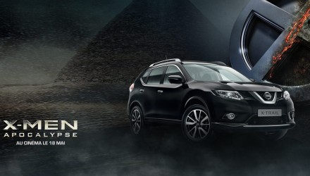 Nissan X-Trail Apocalypse X-Men