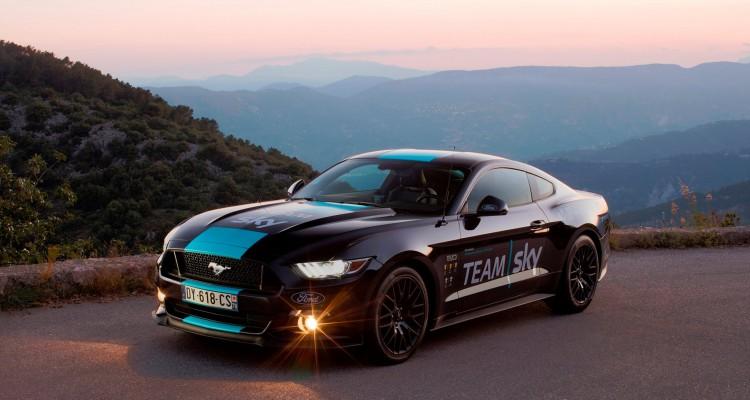 Ford Mustang, Tour de France, Team Sky