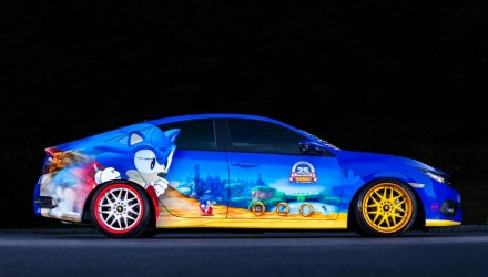 Honda Civic Sega Sonic