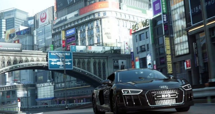 Audi R8 Final Fantasy film