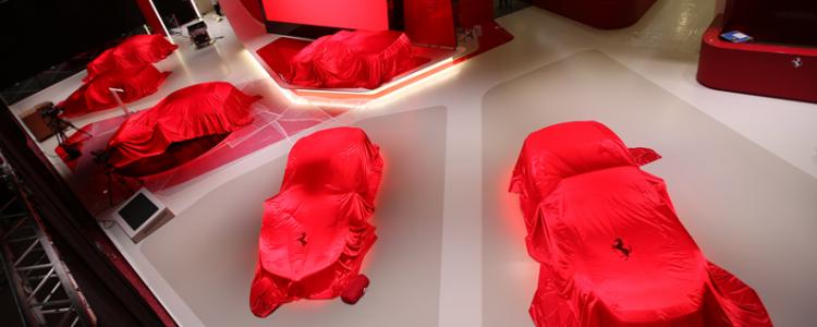 Mondial de l'Auto Ferrari
