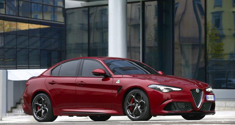 Alfa Roméo Giulia showroom