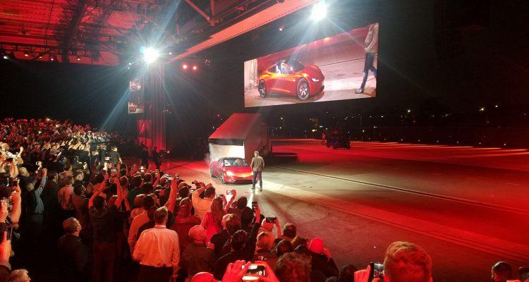 Tesla Semi Tesla Roadster