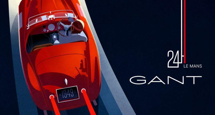 Une collection Gant spéciale 24 Heures du Mans !