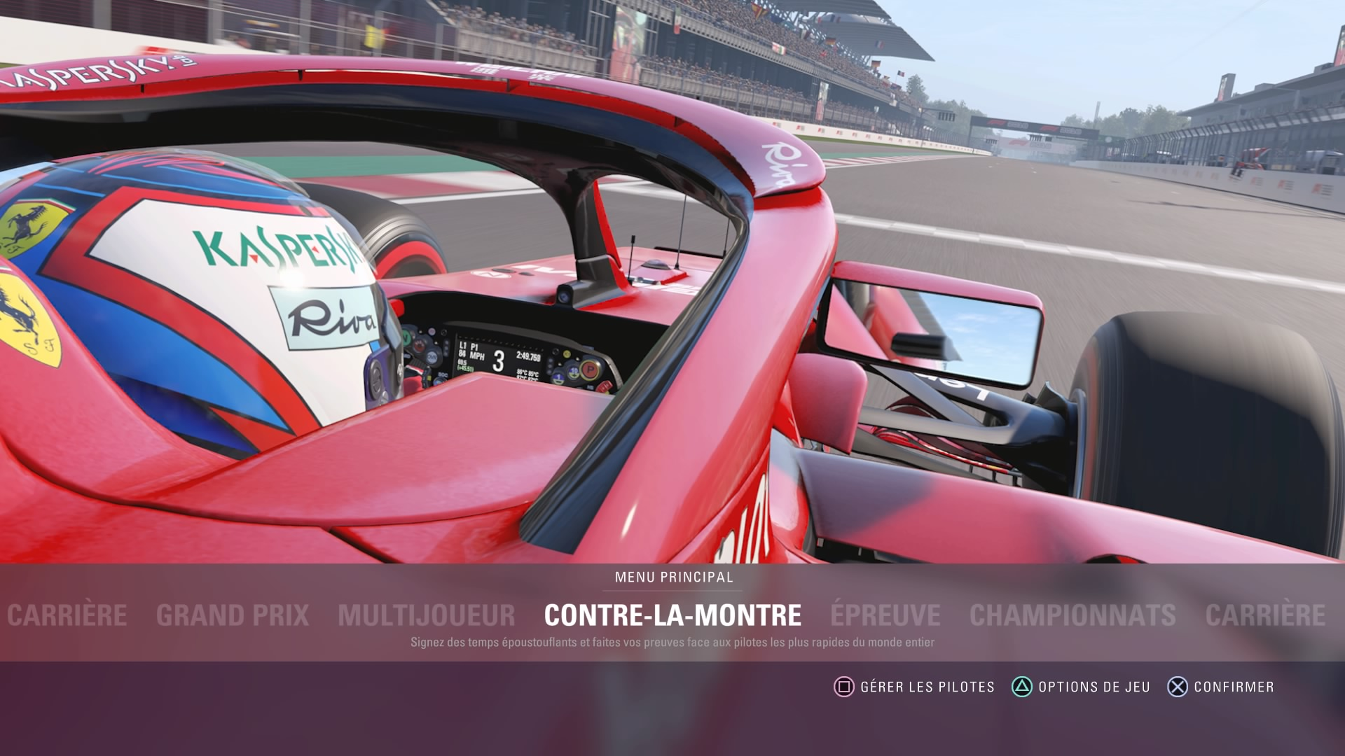 f1 2018 est il aussi bon qu 39 escompt d couvrez le test ps4 le mag auto prestige. Black Bedroom Furniture Sets. Home Design Ideas