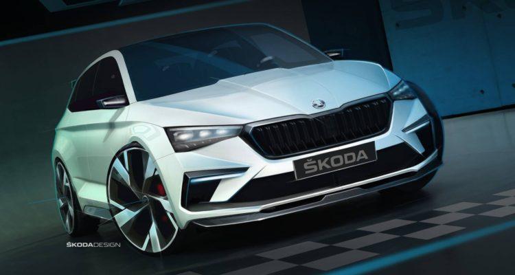 Skoda Vision RS, le concept car tchèque au Mondial de l'Auto 2018