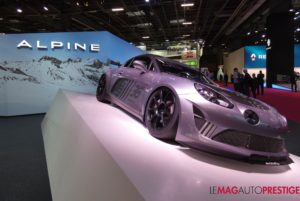 Mondial de l'Auto, l'Alpine est la star française du salon !