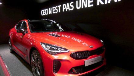 Mondial de l'Auto 2018, la Kia Stinger a de quoi séduire