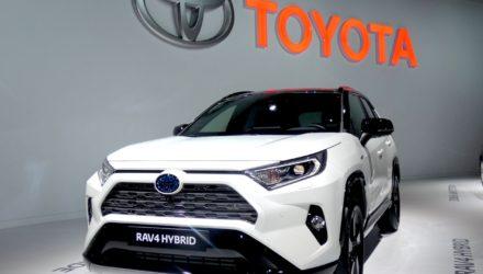 Toyota au Mondial de l'Automobile 2018
