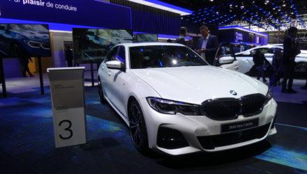 BMW Série 3 au Mondial de l'Auto 2018