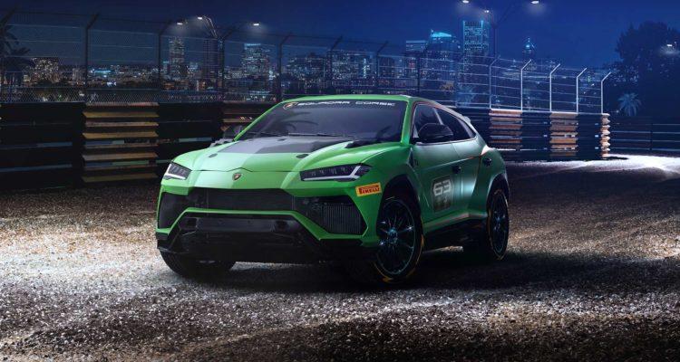 Lamborghini arrive en compétition offroad !