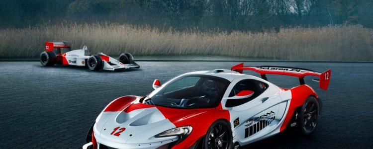 McLaren réalise une P1 GTR aux couleurs de Senna !