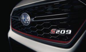 La Subaru Impreza WRX STI S209 se dévoile à Detroit