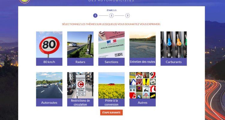 Le Grand Débat un site pour les automobilistes !