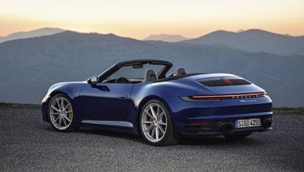 Nouvelle Porsche 911, le cabriolet arrive !